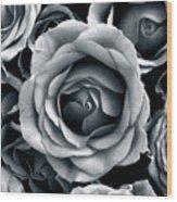 Rose Tones Wood Print
