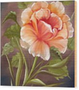 Rose Tropicana Wood Print