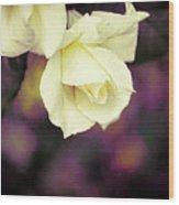 Rose Up Wood Print