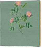 Rose123 Wood Print