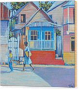 Roseau Wood Print