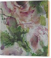 Rosebuds Wood Print