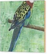 Rosella Wood Print