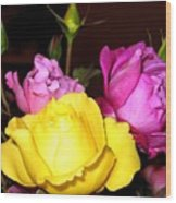 Roses 4 Wood Print