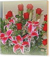 Rose's Wood Print