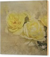 Roses Delight Wood Print