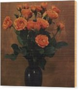 Roses For My Sweetheart Wood Print