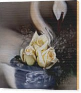 roses for Susan Wood Print