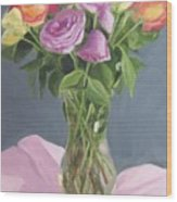 Roses From Life Wood Print