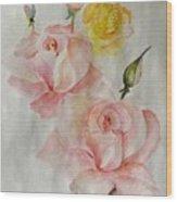 Roses Scent Wood Print