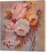 Roses Study Wood Print