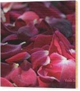 Rose Waves Wood Print