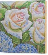 Roses.2007 Wood Print