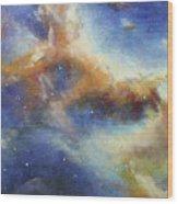 Rosette Nebula Wood Print