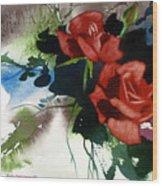 Rosewood Wood Print
