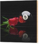 Rosey8 Wood Print