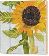 Rosezella's Sunflowers II Wood Print