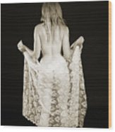 Rosie Nude Fine Art Print In Sensual Sexy 4613.01 Wood Print