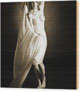 Rosie Nude Fine Art Print In Sensual Sexy 4623.01 Wood Print