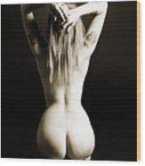 Rosie Nude Fine Art Print In Sensual Sexy 4628.01 Wood Print