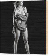 Rosie Nude Fine Art Print In Sensual Sexy 4636.01 Wood Print