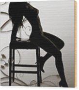 Rosie Nude Fine Art Print In Sensual Sexy 4649.01 Wood Print