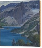 Ross Lake Wood Print