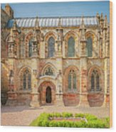 Rosslyn Chapel Panorama Wood Print