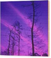 Rosy Fingers Of Dawn Wood Print