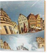 Rotenburg In A Tuba Wood Print