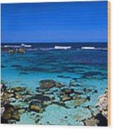 Rottnest Panorama Wood Print