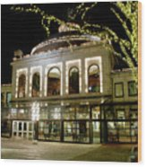 Rotunda - Quincy Market Wood Print