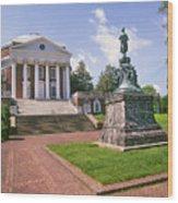 Rotunda, University Of Virginia Wood Print