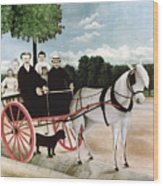 Rousseau: Cart, 1908 Wood Print