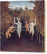 Rousseau: Football, 1908 Wood Print