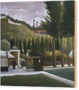 Rousseau: House, C1900 Wood Print