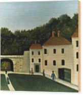 Rousseau:promenaders,c1907 Wood Print