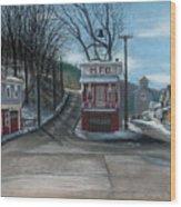 Route 6 Meshoppen Pa Wood Print