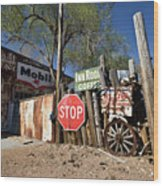 Route 66-56 Wood Print