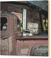 Route 66-60 Wood Print