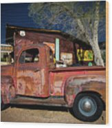 Route 66-61 Wood Print