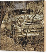 Route 66-66 Wood Print