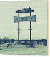 Route 66-80 Wood Print