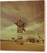 Route 66-82 Wood Print