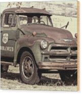 Route 66 Chevy Tumbleweed - #3 Wood Print