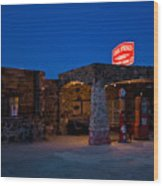 Route 66 Outpost Arizona Wood Print