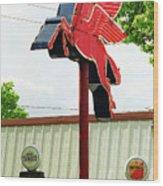 Route 66 - Rolla Missouri Wood Print
