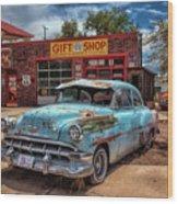 Route 66 Seligman Wood Print