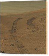 Roving Across Mars 2 - Mars Light Wood Print