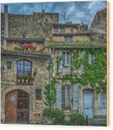 Row Houses Arles France_dsc5719_16_dsc5719_16 Wood Print